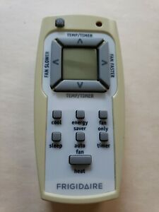 FRIGIDAIRE FFRH0822R1 Remote Control with Heater Button for A/C with heat pump