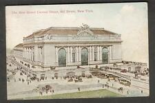1911 new Grand Central Depot post card New York to Sayre PA/Success Co No 1085