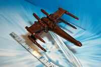 STAR WARS MICRO MACHINES X-Wing STARFIGHTER BRONZE COLOR