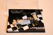 1/43 DE TOMASO 505/38 FRANK WILLIAMS RACING TEAM FACTORY ROLL OUT SILVER