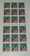 US Stamp Scott #3283a - ATM Booklet of 18 - Flag with Chalkboard - 33c - MNH