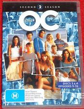 DVD. The OC /Season 2 disk 3&4, episodes 9-16 /Adam Brody  /(M) / Reg 4 /338 min