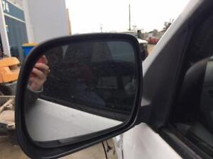 TOYOTA HILUX LEFT DOOR MIRROR POWER, 2WD, BLACK, SR/SR5, 10/10-08/15 10 11 12 13