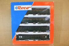ROCO 44119 SNCF GREEN EXPRESS COACH SET MINT BOXED nq