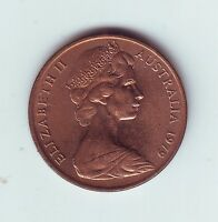 1979 2 Two Cent Cents Coin Australia  Q-589