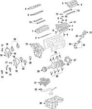 Genuine Ford Thrust Washer 8L3Z-6K302-A