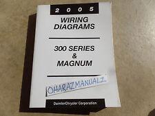 2005 Chrysler 300 Series & Magnum Wiring Diagrams Service Manual OEM