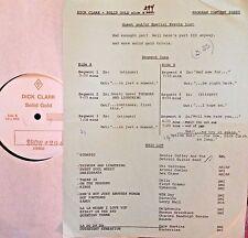 RADIO SHOW:DICK CLARK GOLD 296 RIVERS! JULIE LONDON, JOE COCKER, EDGAR WINTER