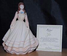 Coalport & Danbury Mint Jo Figurine Little Women Collection