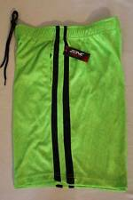 NEW Mens Athletic Shorts XL Micro Mesh Basketball Workout Gym Running Green