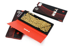YBN Gold Semi Hollow 10s 11s Speed MTB Bike Road Bicycle Chain for Shimano/SRAM