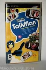TALKMAN CON MICROFONO GIOCO USATO OTTIMO SONY PSP EDIZIONE ITALIANA GD1 36687