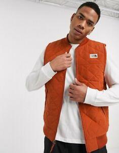 The North Face Inc Men's Cuchillo Insulated Vest Size Small Fleece