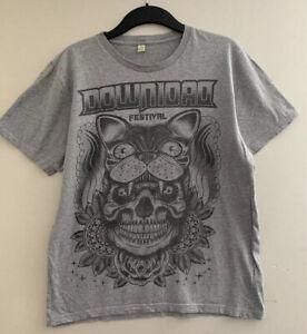 Download Festival Grey Cotton T-Shirt Size Medium