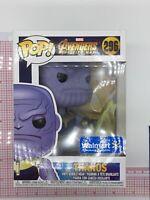 Funko Pop! Marvel Avengers Infinity War Thanos #296 Walmart Exclusive M02