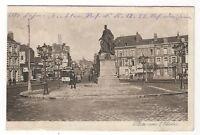 10/338 AK STRASSENBAHN WERBUNG DENKMAL   WELTKRIEG 1916 nach PLESSA