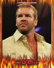 CHRISTIAN TNA WRESTLING PROMO PHOTO WWE WWF 8x10
