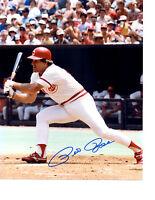 PETE ROSE CINCINNATI REDS HIT KING 8X10 PHOTO OHIO  BASEBALL MLB HOF FAC'S AUTO