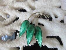 Silberschmuck Design Brosche 925 SH NORWAY Sterling 30/40er Jahre Silber