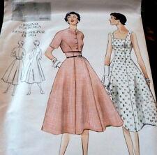 NEW 1950s VOGUE VINTAGE MODEL DRESS & BOLERO SEWING PATTERN 10/32.5 UNCUT