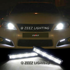 Xenon White 4 LED Daytime Running Light DRL Daylight Kit Day Driving Lamp C14