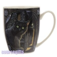 NEW WHAT LIES WITHIN BLACK CAT LISA PARKER BOXED MUG CUP FREE POSTAGE