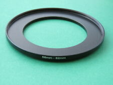 58mm-82mm Stepping Step Up Male-Female Lens Filter Ring Adapter 58mm-82mm