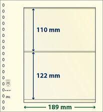 Lindner T-Blanko-hojas con dos Bolsas de 10 Paquete Arte Núm. 802 207