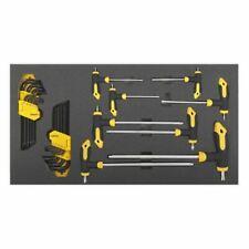 Siegen by Sealey 26 Piece T-Handle & Torx Key Sets in a EVA Drawer Insert S01135