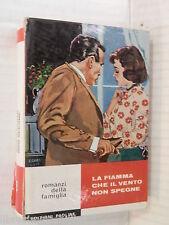 LA FIAMMA CHE IL VENTO NON SPEGNE Erminia Sempio Rossi Edizioni Paoline 1967 di