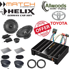 Match Amp & harness PP62DSP+Harness+Helix F 62C Component Upgrade Toyota FJ