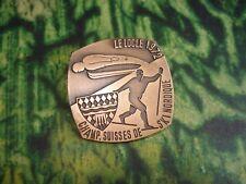 INSIGNE BADGE  SKI Nordique  Championnats Suisses - Le Locle 1972