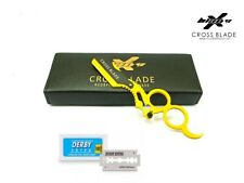BARBER SALON STRAIGHT CUT  THROAT  SHAVING  RAZOR  SHAVETTE  RASOIRS  RASOI, USA