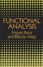 Dover Books on Mathematics: Functional Analysis by Frigyes Riesz and Bela...