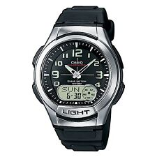 Casio Aq-180W-1Bvef Mens Resin Day & Date Combi Watch