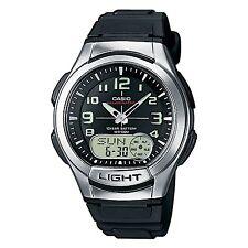 Casio Aq-180W-1Bvef Mens Resin Day & Date Combi Watch