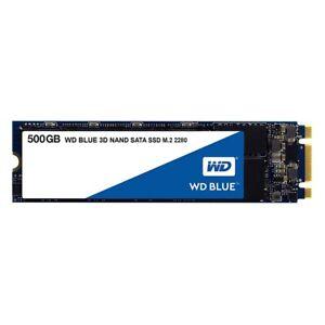 WD Blue SSD 500GB 3D NAND M.2 interne SSD