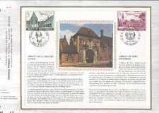 Feuillet CEF Belgique n°72 Gent-Herverlée cachet 24-3-73 Gent - Heverlée