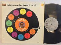 Benny Golson Take A Number From 1 To 10 EX ARGO MONO DG Cedar Walton SahibShihab