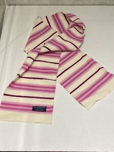 Authentic Burberry Brit Scarf 100% Lambswool