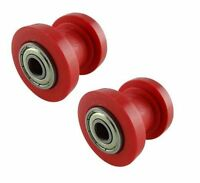 2x 10mm Chain Roller Slider Tensioner Guide Pulley Dirt Pit Bike Motorcycle