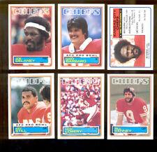 1983 Kansas City Chiefs Set JOE DELANEY NICK LOWERY BILL KENNEY ART STILL