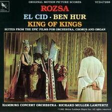 KING OF KINGS (BOF) - BEN-HUR (CD) El CID MIKLOS ROZSA