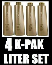 JOICO K-PAK MIRACLE Repair LITER KIT w/Sham+Cond+ Cuticle Sealer & Reconstructor
