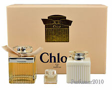 Chloe Chloe set 75 ml Eau de Parfum + 5 ml edp + 100 ml Body Lotion Neu