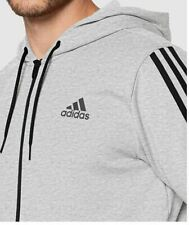 ADIDAS Athletics 3 Stripe Full Zip Hoodie Jacket - Size 2XL & 3XL - OZ STOCK!