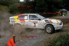 David Llewellin & Phil Short Audi Quattro Welsh Rally 1987 Photograph 1