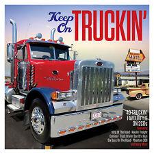 KEEP ON TRUCKIN' - DUANE EDDY CHUCK BERRY VENTURES BOB DYLAN - 2 CDS - NEW!!