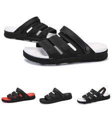 Mens Cut Out Slingbacks Flats Walking Sand Summer Beach Slippers Sandals Shoes B
