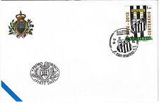 BUSTA ANNULLO FDC San  Marino 2012 Centenario SANTOS BRASILE  1912 - 2012